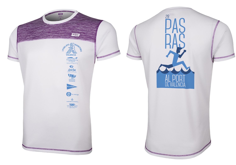 Diseño camisetas Pas Ras 2016