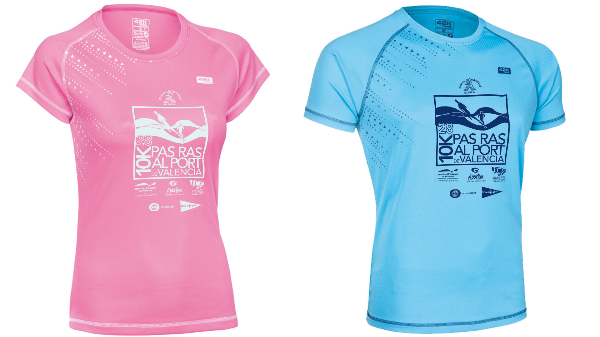 Dos diseños exclusivos de camiseta técnica